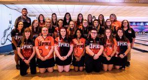2019-2020 Women's Bowling Team