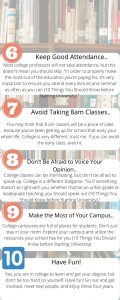 Last Five Things to Know before Starting College